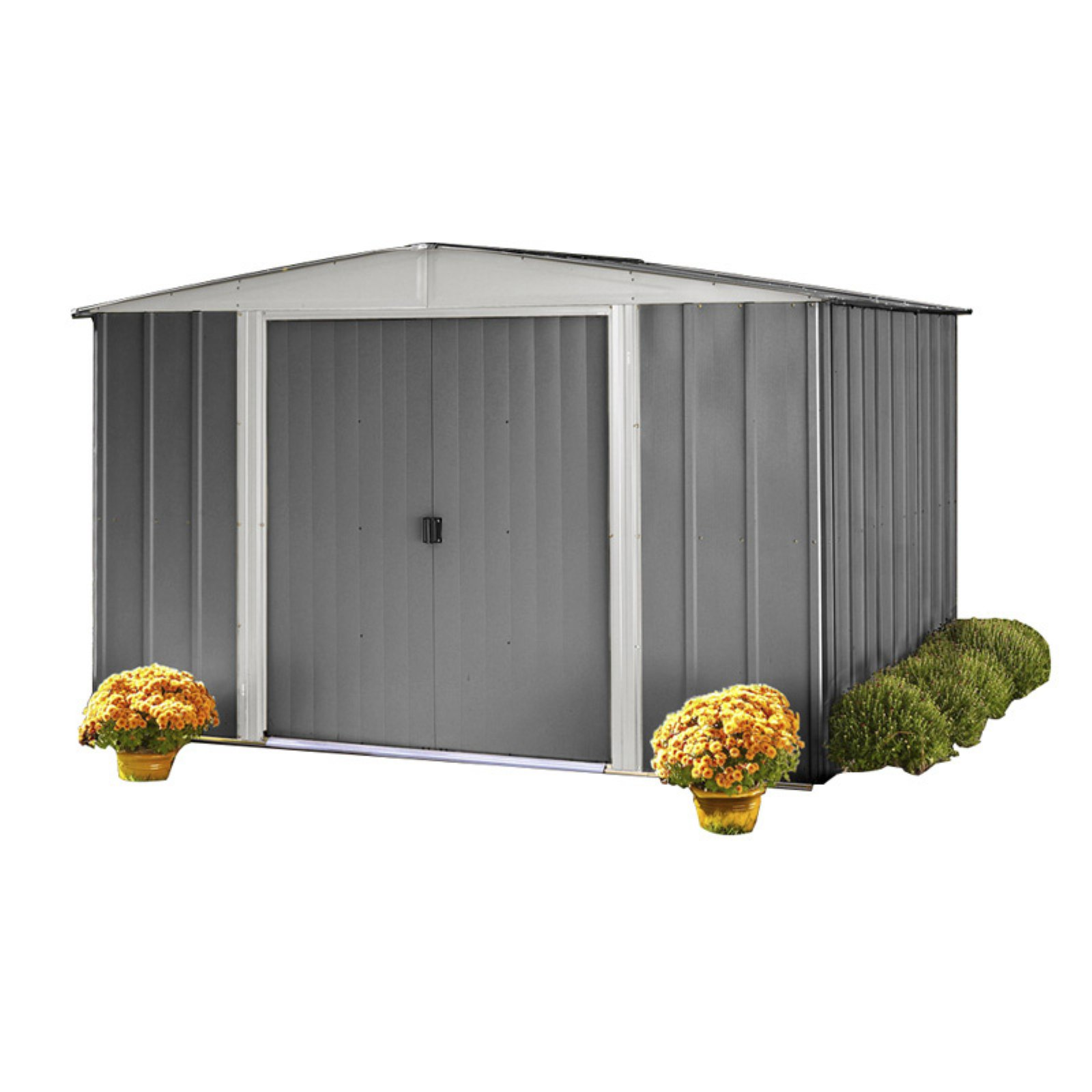 Arrow Euro Hamlet 10 x 9 ft. Steel Storage Shed