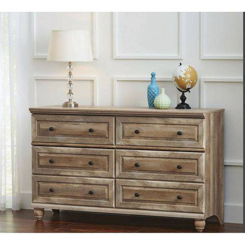 better homes gardens crossmill dresser weathered finish