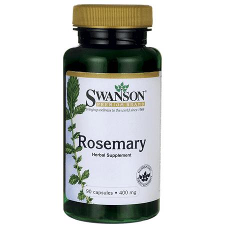 - Swanson Rosemary 400 mg 90 Caps