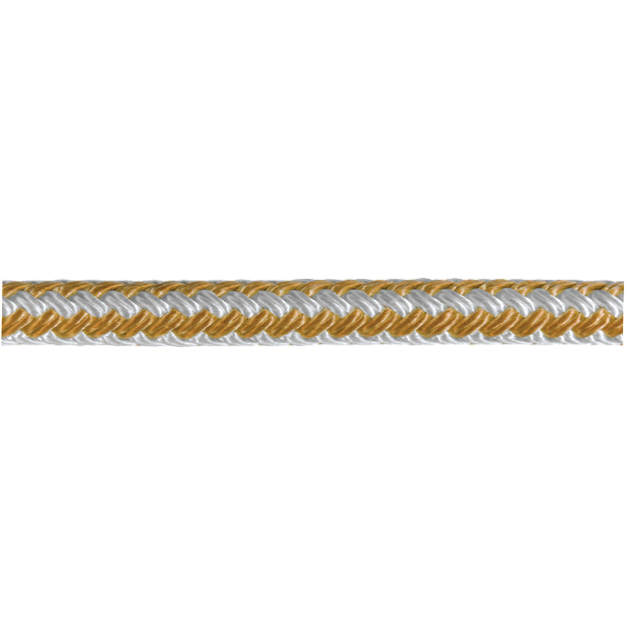 Samson Gold-N-Braid Double Braided Nylon Dock Line by Samson Rope