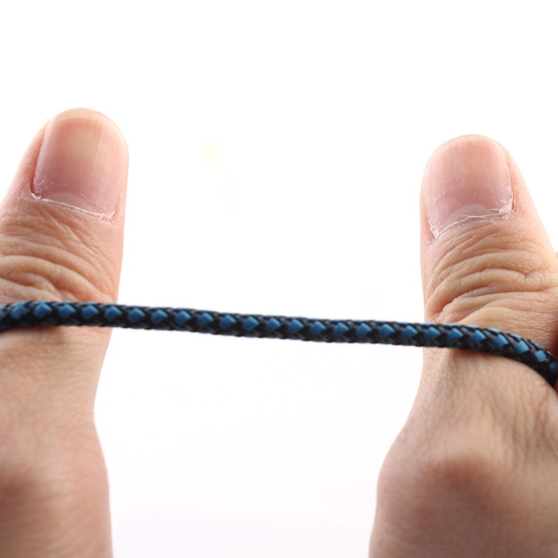Unique BargainsMP3 Player Nylon Anti-Friction 3.5mm Male to Male Aux Cord Audio Cable Blue - image 2 de 5