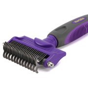 Best Cat Dematting Brushes - Dematting Comb with Double Sided Professional Rake By Review
