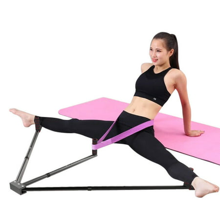Leg Stretcher Heavy Duty Gymnastic Portable 3 Bar Flexibility Stretching Machine Martial Arts Stretch Yoga Gym