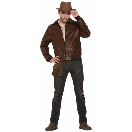 1940's Bomber Costume Jacket Adult - 1940's Couples Costumes