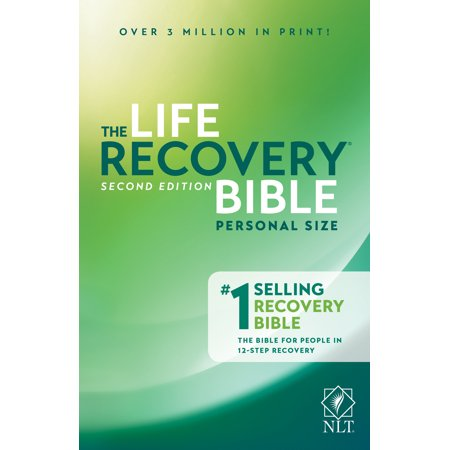 NLT Life Recovery Bible, Second Edition, Personal Size (Best New Life Recovery)
