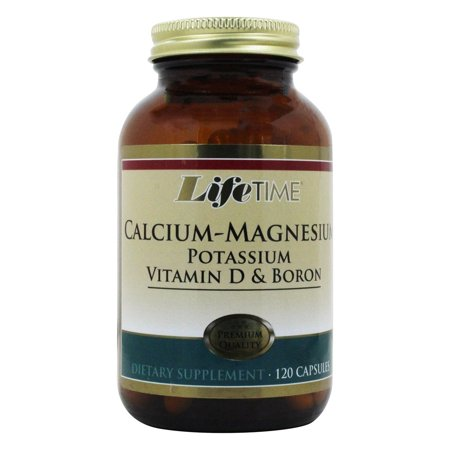 Calcium Magnesium Potassium (LifeTime Vitamins - Calcium Magnesium Potassium Vitamin D & Boron - 120)