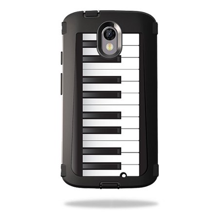 Turbo Key (Skin For OtterBox Defender Motorola Droid Turbo 2 – Piano Keys | MightySkins Protective, Durable, and Unique Vinyl Decal wrap cover | Easy To Apply, Remove, and Change Styles | Made in the USA )