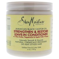 SheaMoisture Jamaican Black Castor Oil Strengthen and Restore Leave-In Conditioner, 6 fl oz