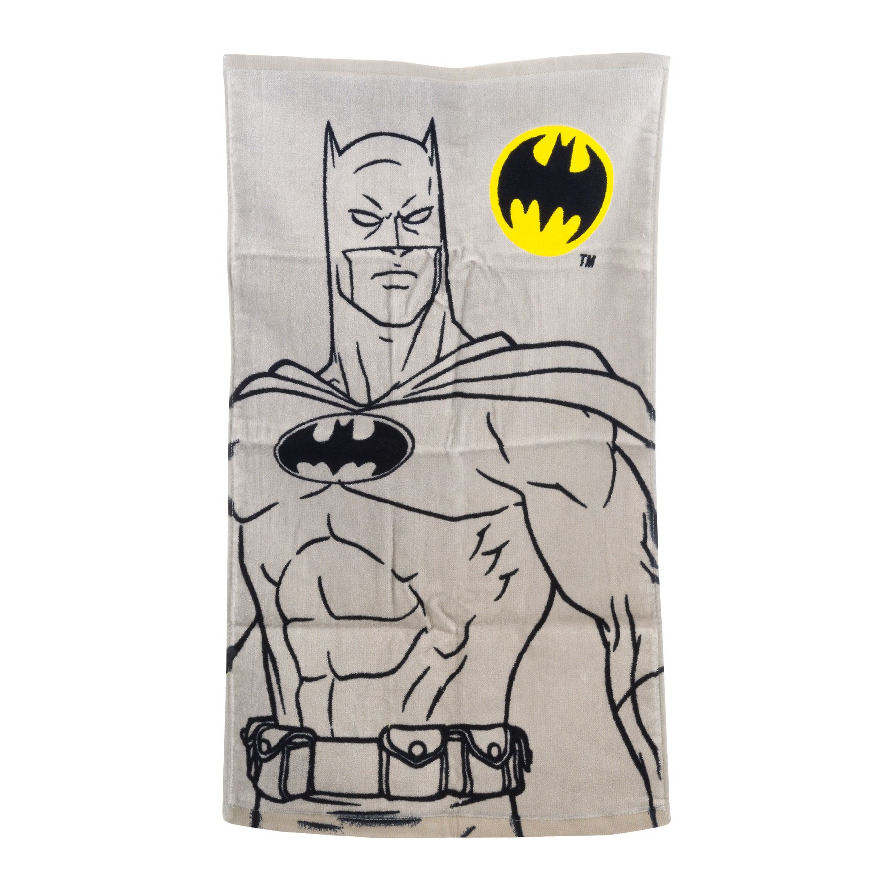 "Batman ""Batman Logo"" Hand Towel, 15"" x 26"", 100% Cotton"