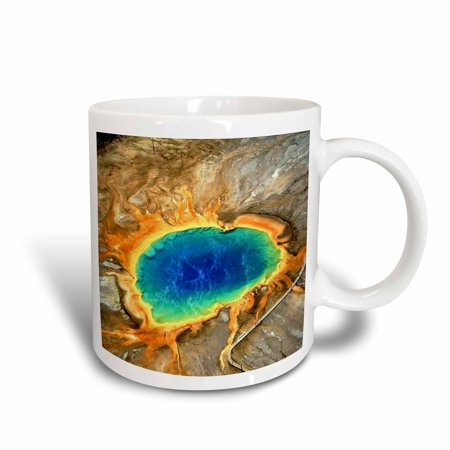 3dRose Aerial View Of Lava Flow, Ceramic Mug, - Lava Flow Recipe