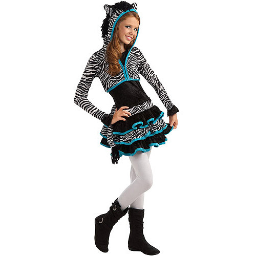Zebra Hoody Child Halloween Costume