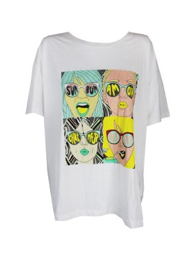f1adf58d0ef0 Product Image Guess Bright White Graphic Short Sleeves T-Shirt XL