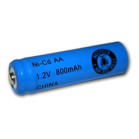 1.2v Cell - Exell 1.2V 800mAh NiCD AA Rechargeable Battery Button Top Cell FAST USA SHIP