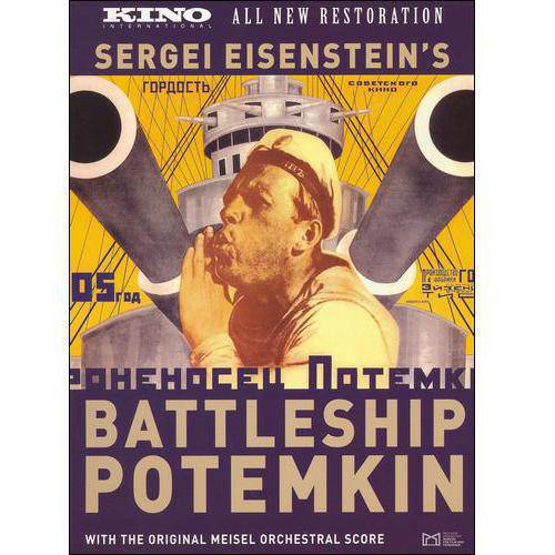 Battleship Potemkin (Russian) (All New Restoration) (Full Frame)