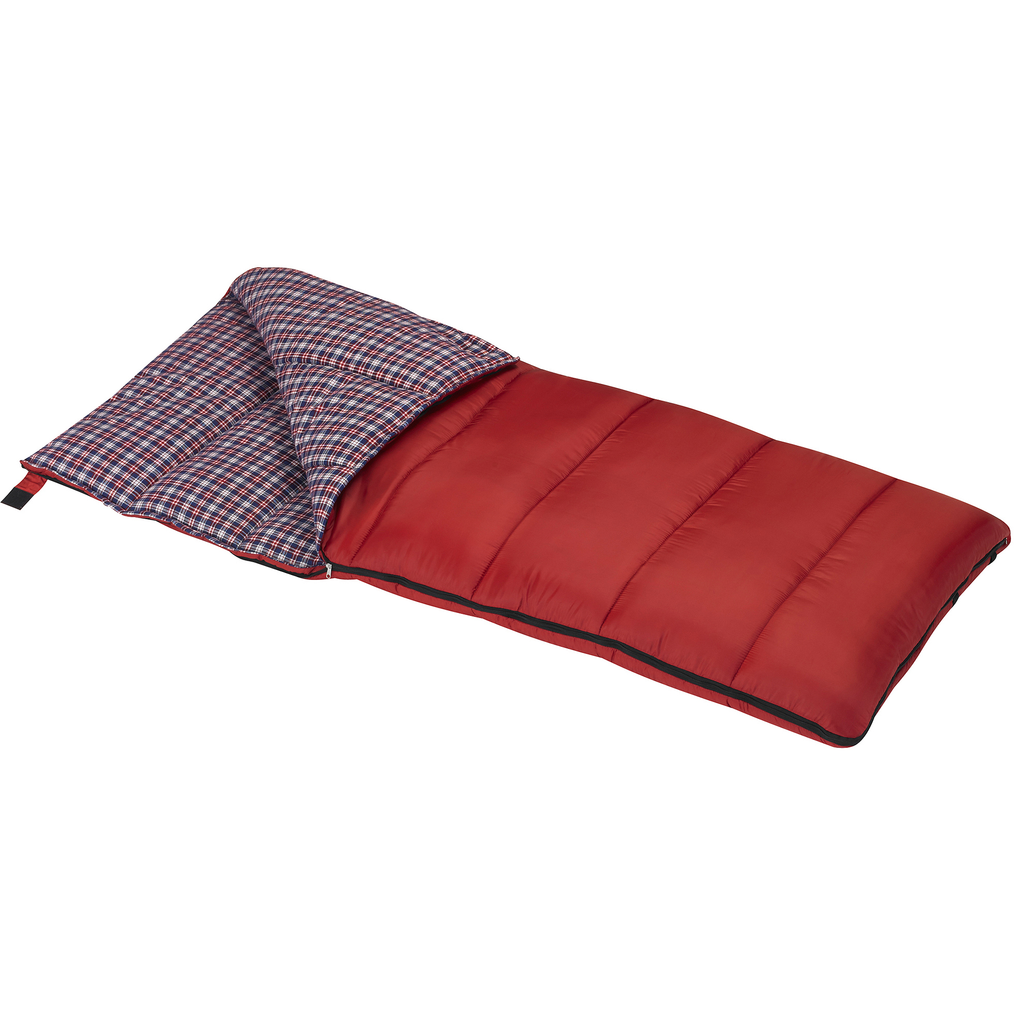 Wenzel Cardinal 30-Degree Sleeping Bag, Red by Wenzel