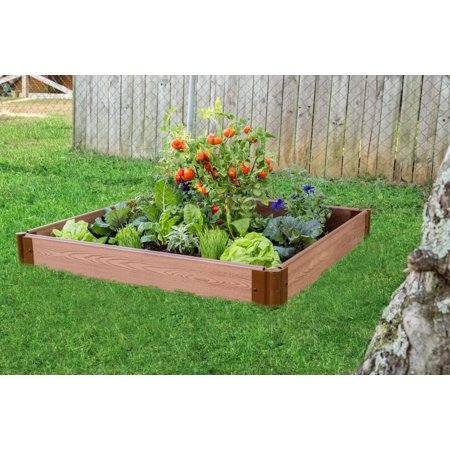 Frame It All Classic Sienna Raised Garden Bed 4