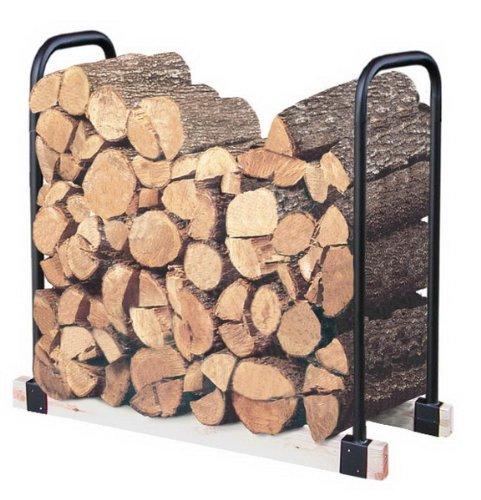 2-Foot to 16-Foot Adjustable Log Rack By Landmann