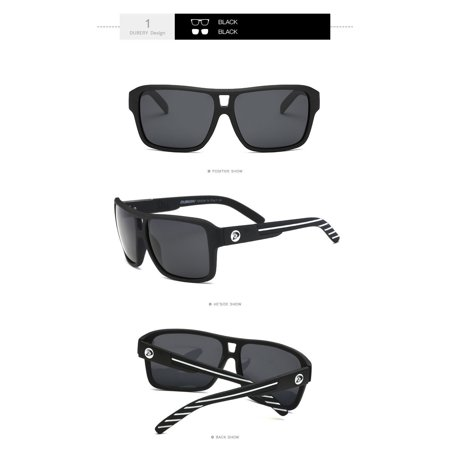 0cbd63438f DUBERY Polarized Sunglasses Men Sports Running Fishing Golfing Driving  Glasses - Walmart.com