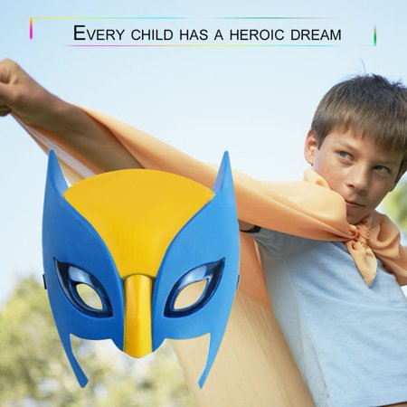 Wolverine Mask Performance Property Superhero Mask For Children With Light