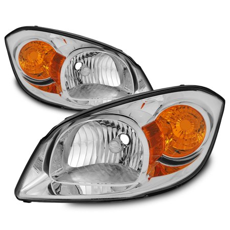Fit 2005-2010 Chevy Cobalt 07-10 G5 05-06 Pursuit Headlights Replacement