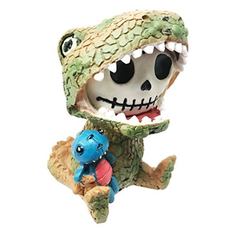 Furry Bones Tyrannosaurus Rex Dinosaur Costume Skeleton Monster Sit Up Ornament - Dinasour Skeleton