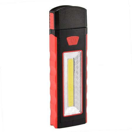 LED Technology Work Light Multi-use COB Flashlight Magnetic Base Portable Security Flood Light with hanger - (Flashlight Hanger)
