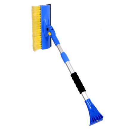 Superio Extendable Snow Brush with Ice Scraper and Squeegee