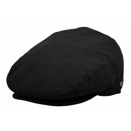 Men's Flat Ivy Golf Driving Hat Cabbie Snap Brim Newsboy Cap Blue Adjustable Golf Hat