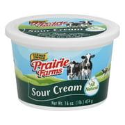 Prairie Farms Farmer Owned All Natural Sour Cream, 16 Oz.