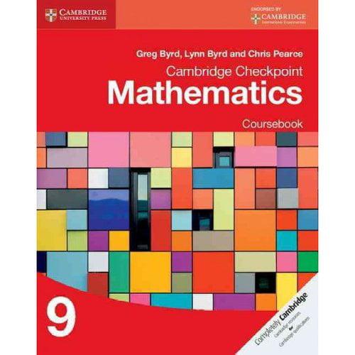 Cambridge Checkpoint Mathematics Mathematics Coursebook 9