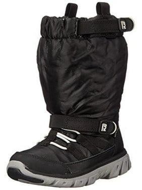 Stride Rite Toddler/Little Kid Made 2 Play Sneaker Winter Boot, Black/Grey