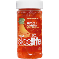 Slice Of Life Antioxidant Gummy Vitamins For Adults With Vitamin C And Pomegranate - 60 Ea, 3 Pack
