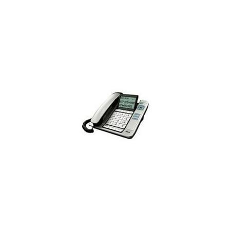 Rca 1113 1bsga Corded Desk Phone Cid Tilt Screen