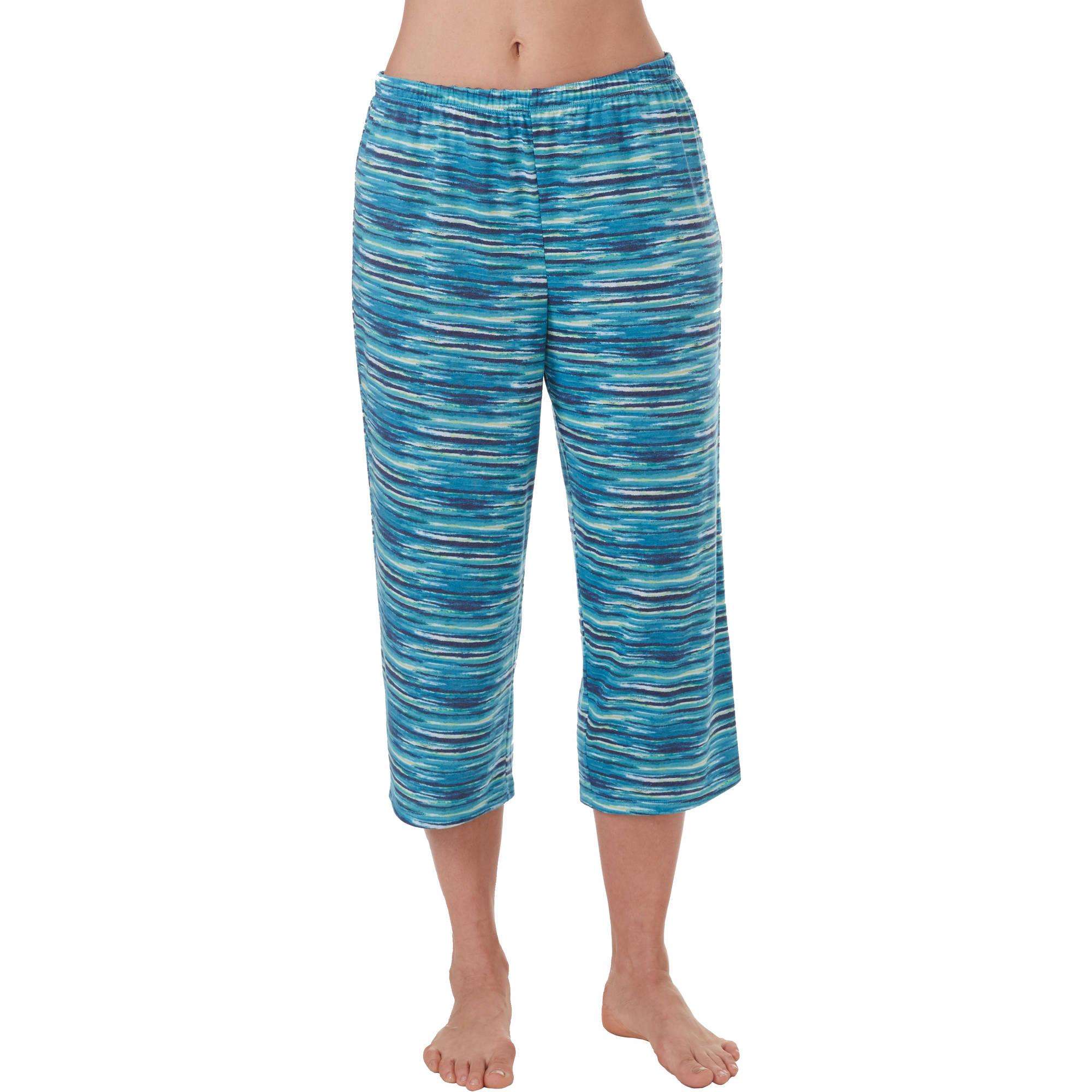 Secret Treasures Women's and Women's Plus Printed Capri Sleep Pant