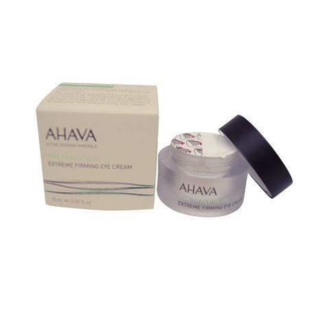 AHAVA Temps Revitaliser Extreme Fermeté Crème Contour des Yeux, 0,51 fl. onces.