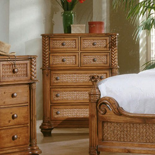 Superieur Progressive Furniture Palm Court 7 Drawer Chest   Island Pine