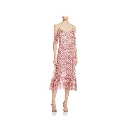 Rebecca Minkoff Womens Buffy Georgette Floral Print Casual - Rebeccas Clothes