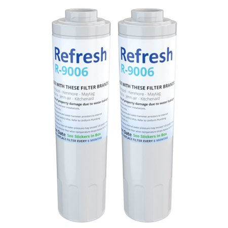 Replacement For Amana ARS9266BS Refrigerator Water Filter by Refresh 2