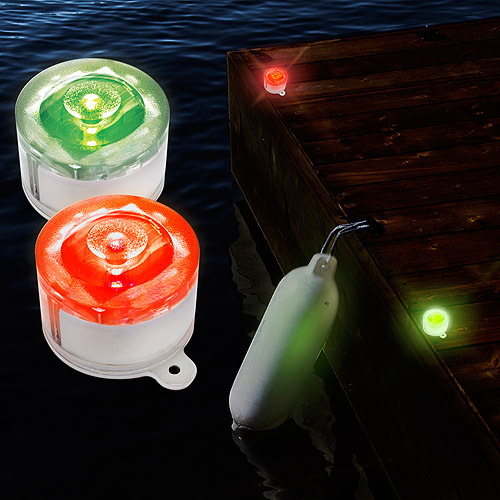 Maxsa Innovations 47775 Solar Marker Light, Red and Green