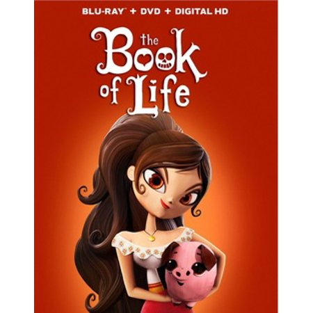 The Book of Life (Blu-ray + DVD) (The Book Of Life Movie)