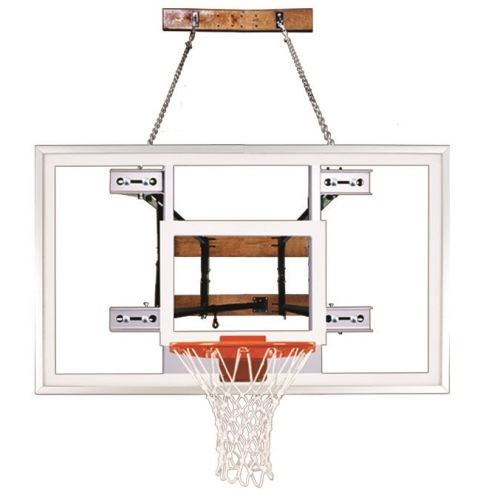 First Team Wall Mount Basketball System - FoldaMount 82 Pro