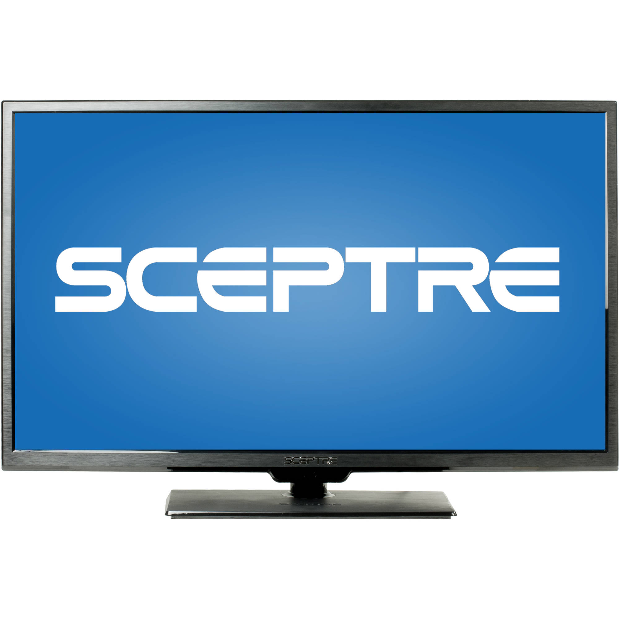 "SCEPTRE X405BV-F 40"" LED Class 1080P HDTV with ultra slim metal brush bezel, 60Hz"