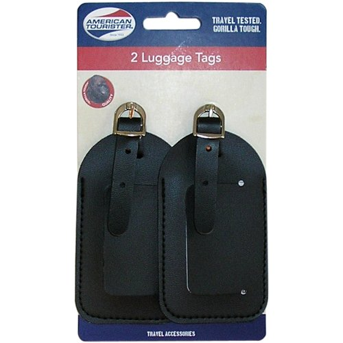 American Tourister 2pk Luggage Tags