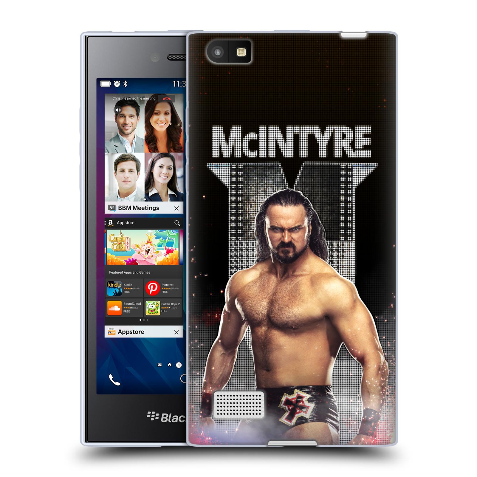 OFFICIAL WWE DREW MCINTYRE SOFT GEL CASE FOR BLACKBERRY PHONES