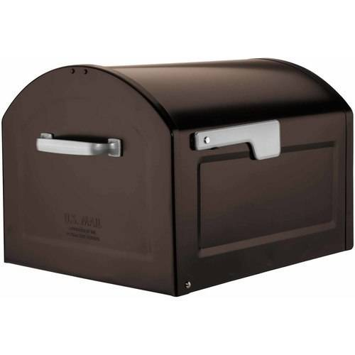 Architectural Mailboxes Centennial Large Capacity Post Mount Mailbox, Assorted Colors by Architectural Mailboxes