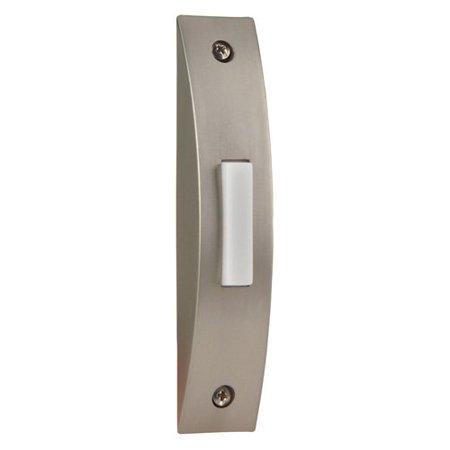 Craftmade Brushed Nickel Lighted Contemporary Doorbell