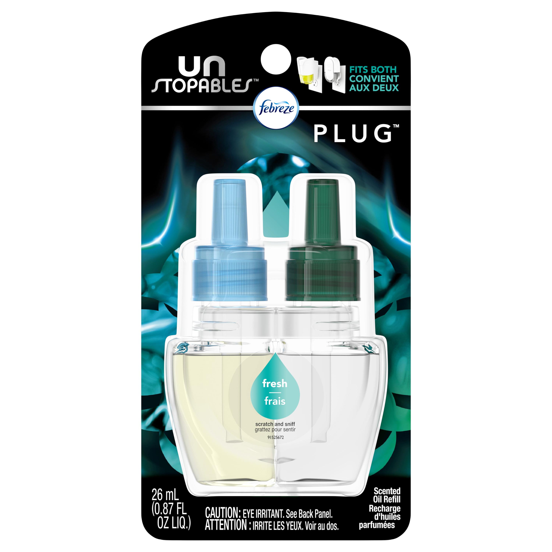 Febreze Unstopables Plug Odor-Eliminating Air Freshener ...