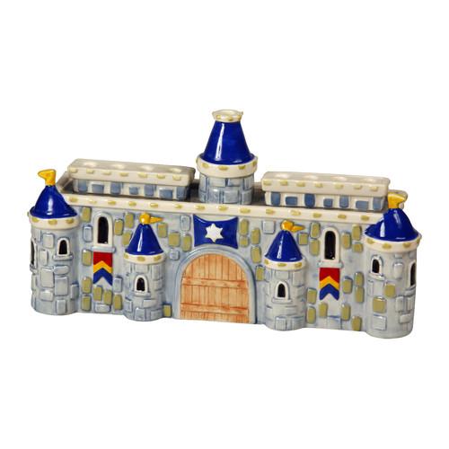 Israel Giftware Design Ceramic Royal Castle Menorah