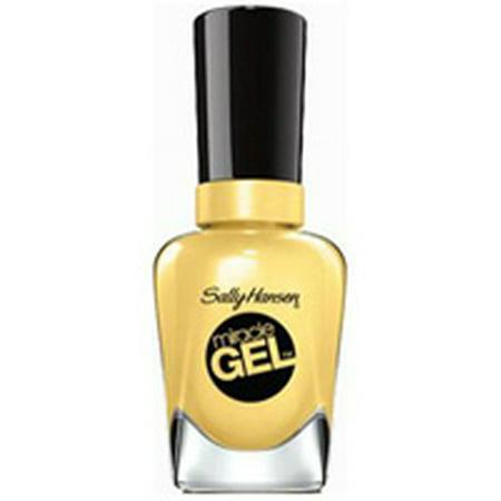 Sally Hansen Miracle Gel Nail Polish, Lemon Haven, 0.5 fl oz