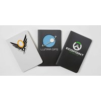 Overwatch: Pocket Notebook Collection (Set of 3) : Winston, Mercy, and Mei